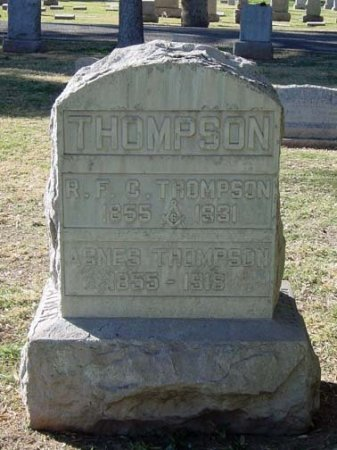 THOMPSON, ROBERT F. C. - Maricopa County, Arizona | ROBERT F. C. THOMPSON - Arizona Gravestone Photos