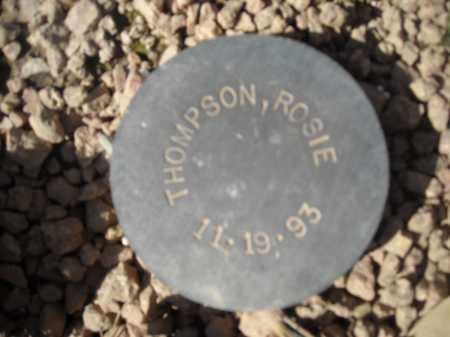 THOMPSON, ROSIE - Maricopa County, Arizona | ROSIE THOMPSON - Arizona Gravestone Photos