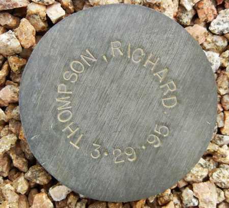THOMPSON, RICHARD - Maricopa County, Arizona | RICHARD THOMPSON - Arizona Gravestone Photos