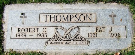 THOMPSON, PAT J - Maricopa County, Arizona | PAT J THOMPSON - Arizona Gravestone Photos