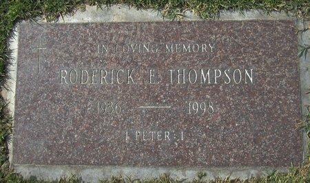 THOMPSON, RODERICK EUGENE - Maricopa County, Arizona | RODERICK EUGENE THOMPSON - Arizona Gravestone Photos