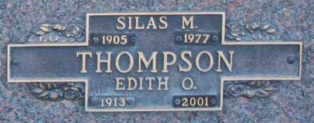 THOMPSON, EDITH O - Maricopa County, Arizona | EDITH O THOMPSON - Arizona Gravestone Photos