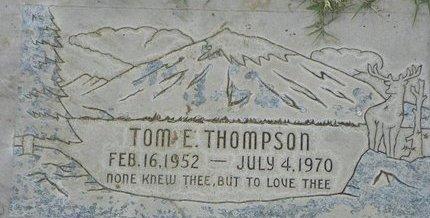 THOMPSON, TOM E - Maricopa County, Arizona | TOM E THOMPSON - Arizona Gravestone Photos