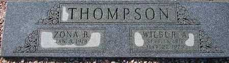 THOMPSON, WILBER A. - Maricopa County, Arizona | WILBER A. THOMPSON - Arizona Gravestone Photos