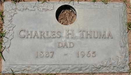 THUMA, CHARLES H. - Maricopa County, Arizona   CHARLES H. THUMA - Arizona Gravestone Photos