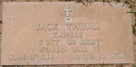 THUMA, JACK - Maricopa County, Arizona   JACK THUMA - Arizona Gravestone Photos