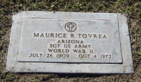TOVREA, MAURICE R - Maricopa County, Arizona   MAURICE R TOVREA - Arizona Gravestone Photos