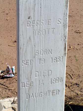 TROTT, BESSIE S - Maricopa County, Arizona | BESSIE S TROTT - Arizona Gravestone Photos