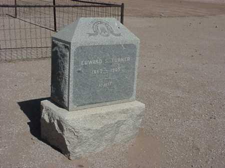 TURNER, EDWARD S. - Maricopa County, Arizona | EDWARD S. TURNER - Arizona Gravestone Photos