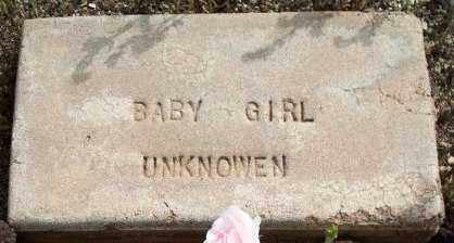 UNKNOWN, BABY GIRL - Maricopa County, Arizona | BABY GIRL UNKNOWN - Arizona Gravestone Photos