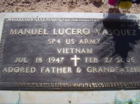 VASQUEZ, MANUEL - Maricopa County, Arizona | MANUEL VASQUEZ - Arizona Gravestone Photos