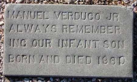 VERDUGO, MANUEL - Maricopa County, Arizona | MANUEL VERDUGO - Arizona Gravestone Photos