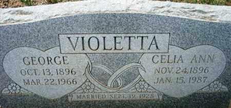 VIOLETTA, CELIA ANN - Maricopa County, Arizona | CELIA ANN VIOLETTA - Arizona Gravestone Photos