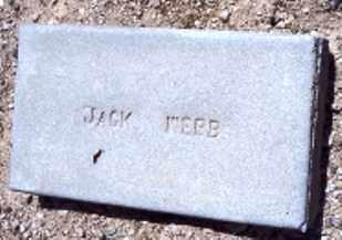 WEBB, JOHN B. (JACK) - Maricopa County, Arizona | JOHN B. (JACK) WEBB - Arizona Gravestone Photos