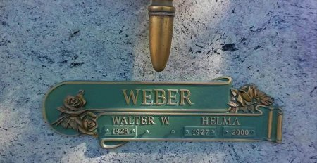 "WEBER, WILHELMINE ""HELMA"" - Maricopa County, Arizona   WILHELMINE ""HELMA"" WEBER - Arizona Gravestone Photos"