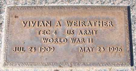 WEIRATHER, VIVIAN A. - Maricopa County, Arizona | VIVIAN A. WEIRATHER - Arizona Gravestone Photos