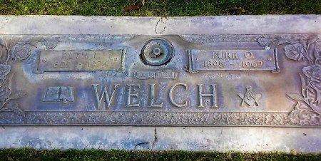 WELCH, BURR O. - Maricopa County, Arizona | BURR O. WELCH - Arizona Gravestone Photos