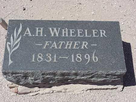 WHEELER, ALBERT HOMER - Maricopa County, Arizona | ALBERT HOMER WHEELER - Arizona Gravestone Photos