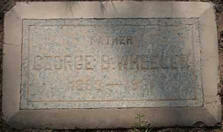 WHEELER, GEORGE S - Maricopa County, Arizona | GEORGE S WHEELER - Arizona Gravestone Photos