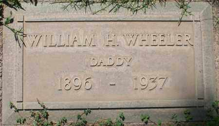 WHEELER, WILLIAM H. - Maricopa County, Arizona | WILLIAM H. WHEELER - Arizona Gravestone Photos