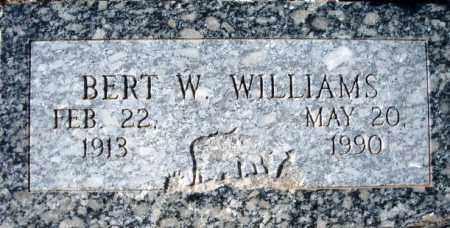 WILLIAMS, BERT W. - Maricopa County, Arizona | BERT W. WILLIAMS - Arizona Gravestone Photos