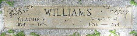 WILLIAMS, VIRGIE M - Maricopa County, Arizona | VIRGIE M WILLIAMS - Arizona Gravestone Photos