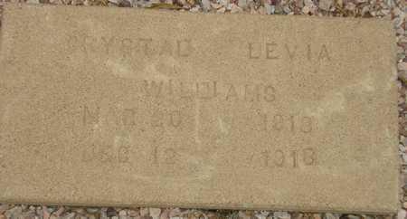 WILLIAMS, CRYSTAL LEVIA - Maricopa County, Arizona | CRYSTAL LEVIA WILLIAMS - Arizona Gravestone Photos