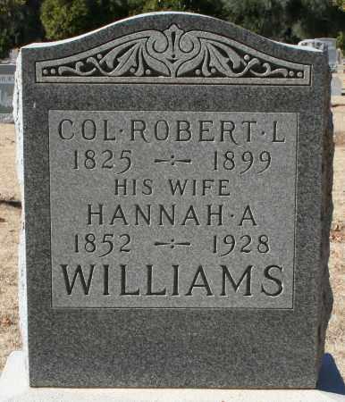 WILLIAMS, COL. ROBERT L - Maricopa County, Arizona | COL. ROBERT L WILLIAMS - Arizona Gravestone Photos