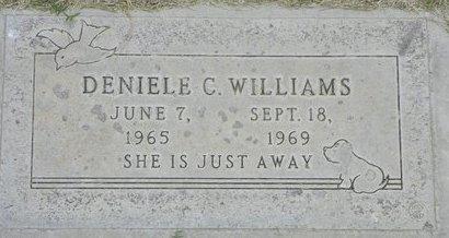 WILLIAMS, DENIELE C - Maricopa County, Arizona | DENIELE C WILLIAMS - Arizona Gravestone Photos