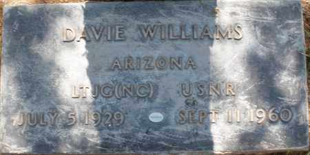 WILLIAMS, DAVIE - Maricopa County, Arizona | DAVIE WILLIAMS - Arizona Gravestone Photos