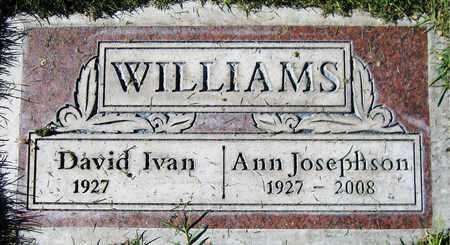 WILLIAMS, DAVID IVAN - Maricopa County, Arizona | DAVID IVAN WILLIAMS - Arizona Gravestone Photos