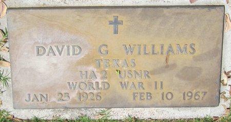WILLIAMS, DAVID LEE - Maricopa County, Arizona   DAVID LEE WILLIAMS - Arizona Gravestone Photos