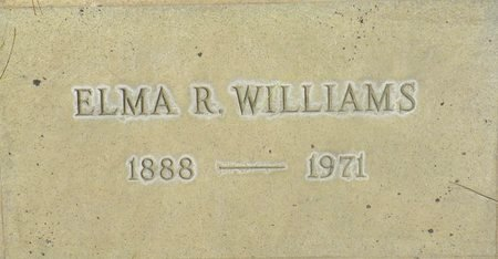WILLIAMS, ELMA R - Maricopa County, Arizona | ELMA R WILLIAMS - Arizona Gravestone Photos