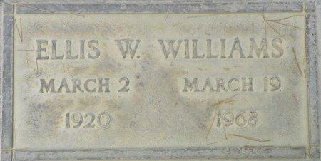 WILLIAMS, ELLIS W - Maricopa County, Arizona | ELLIS W WILLIAMS - Arizona Gravestone Photos