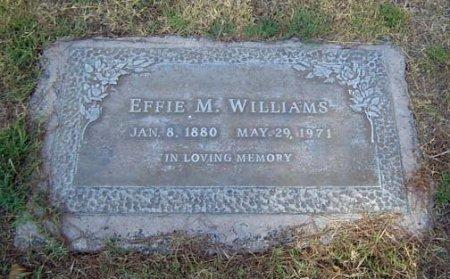 WILLIAMS, EFFIE MAUDE - Maricopa County, Arizona | EFFIE MAUDE WILLIAMS - Arizona Gravestone Photos