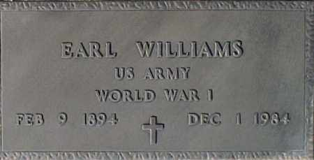 WILLIAMS, EARL - Maricopa County, Arizona | EARL WILLIAMS - Arizona Gravestone Photos