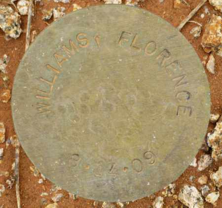 WILLIAMS, FLORENCE - Maricopa County, Arizona | FLORENCE WILLIAMS - Arizona Gravestone Photos