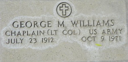 WILLIAMS, GEORGE M - Maricopa County, Arizona | GEORGE M WILLIAMS - Arizona Gravestone Photos