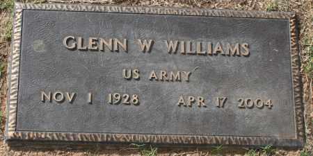 WILLIAMS, GLENN W. - Maricopa County, Arizona | GLENN W. WILLIAMS - Arizona Gravestone Photos