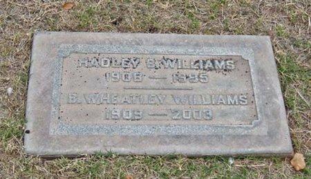 WILLIAMS, BERTHA WHEATLEY - Maricopa County, Arizona | BERTHA WHEATLEY WILLIAMS - Arizona Gravestone Photos