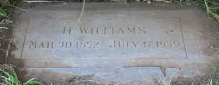 WILLIAMS, HEZEKIAH - Maricopa County, Arizona | HEZEKIAH WILLIAMS - Arizona Gravestone Photos