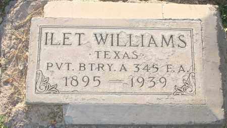 WILLIAMS, ILET - Maricopa County, Arizona | ILET WILLIAMS - Arizona Gravestone Photos