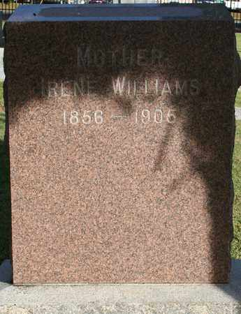 WILLIAMS, IRENE - Maricopa County, Arizona | IRENE WILLIAMS - Arizona Gravestone Photos