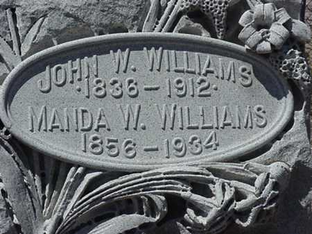 WILLIAMS, AMANDA/ AMANDAVILLE - Maricopa County, Arizona | AMANDA/ AMANDAVILLE WILLIAMS - Arizona Gravestone Photos