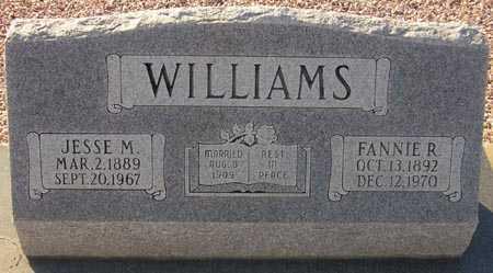 WILLIAMS, FANNIE R. - Maricopa County, Arizona | FANNIE R. WILLIAMS - Arizona Gravestone Photos