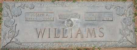 WILLIAMS, JOSEPH A. - Maricopa County, Arizona | JOSEPH A. WILLIAMS - Arizona Gravestone Photos