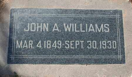 WILLIAMS, JOHN A - Maricopa County, Arizona   JOHN A WILLIAMS - Arizona Gravestone Photos