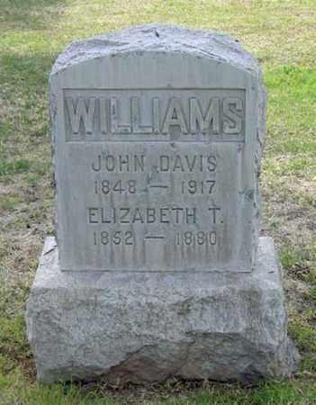 WILLIAMS, JOHN DAVIS - Maricopa County, Arizona | JOHN DAVIS WILLIAMS - Arizona Gravestone Photos
