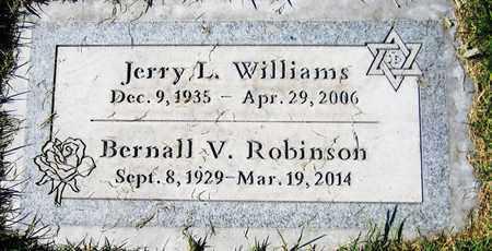 WILLIAMS, JERRY L. - Maricopa County, Arizona   JERRY L. WILLIAMS - Arizona Gravestone Photos