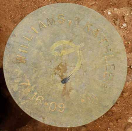 WILLIAMS, KATHLEEN M. - Maricopa County, Arizona | KATHLEEN M. WILLIAMS - Arizona Gravestone Photos